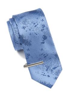 Calvin Klein Silk Brushstroke Tie Set