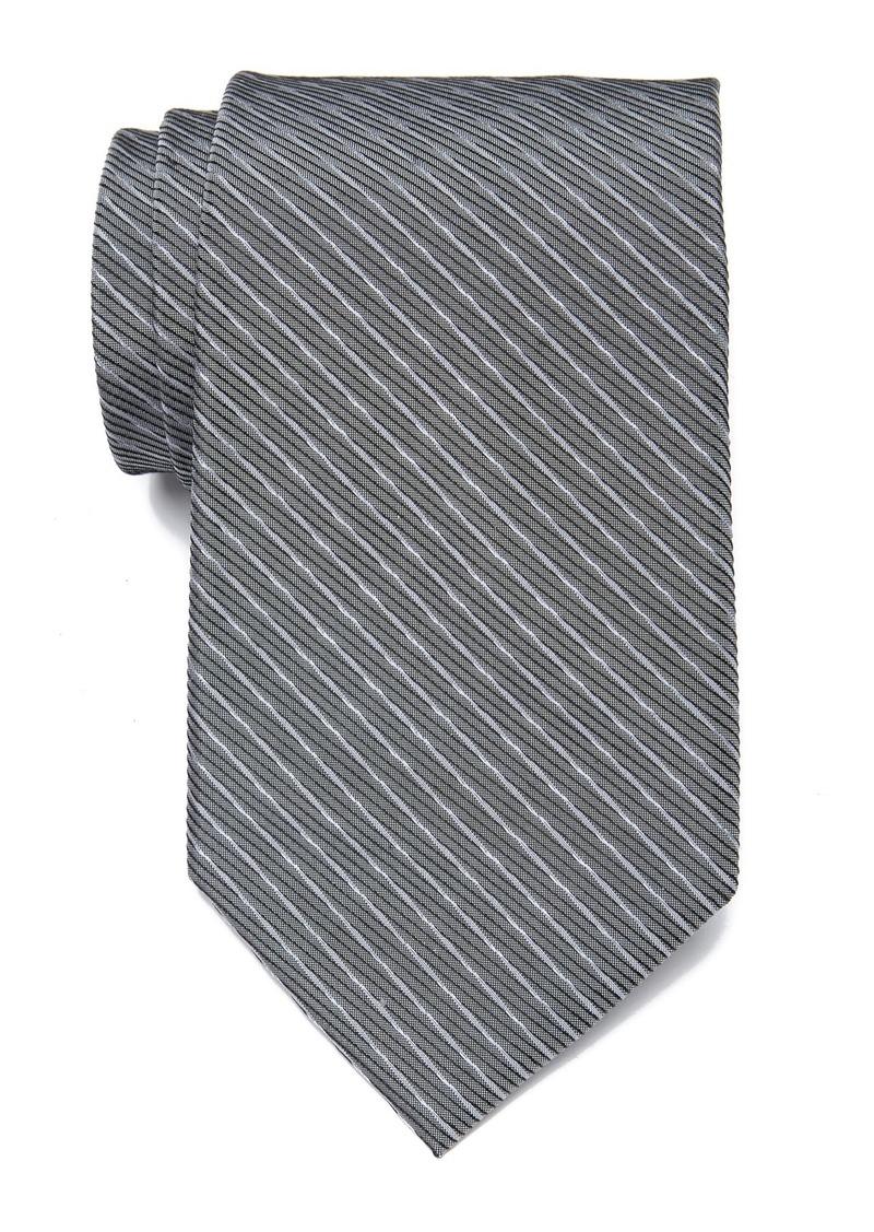 Calvin Klein Silk Fine Line Twist Tie - XL