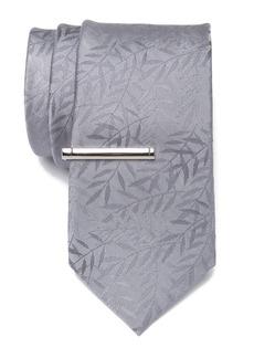 Calvin Klein Silk Jungle Grass Tie