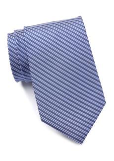 Calvin Klein Silk Linear Stripe Tie - XL