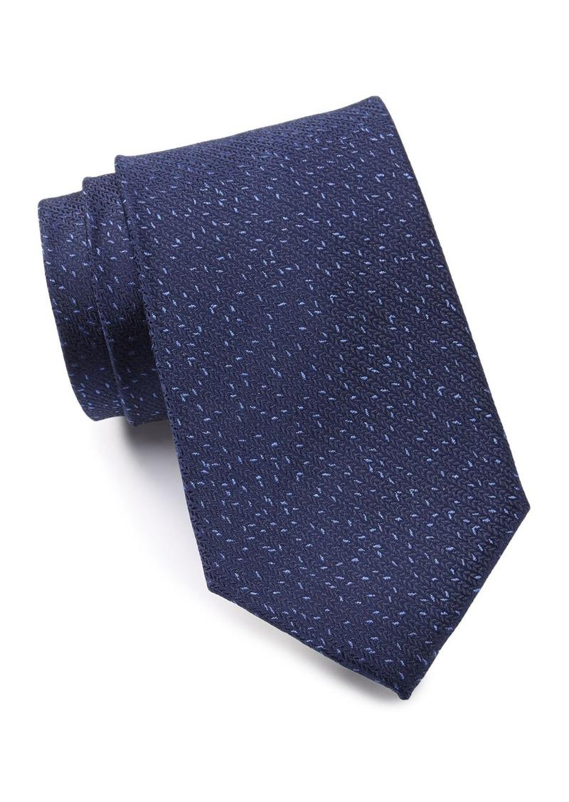 Calvin Klein Silk Micro Dash Tie - XL