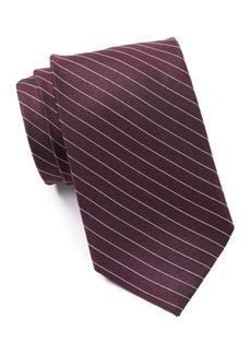 Calvin Klein Silk Mid Stripe Texture Tie