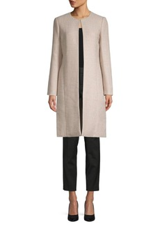 Calvin Klein Single-Clasp Long-Sleeve Jacket