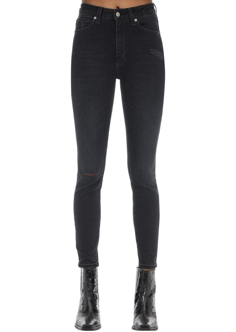 Calvin Klein Skinny High Rise Stretch Denim Jeans