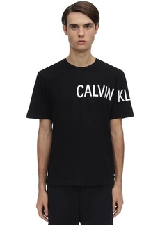 Calvin Klein Sleeve Institutional Logo Cotton T-shirt