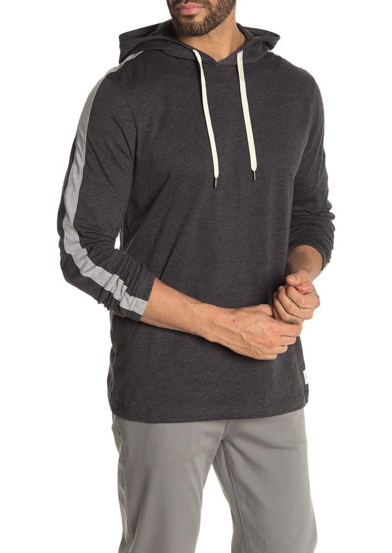 Calvin Klein Sleeve Stripe Pullover Lounge Hoodie