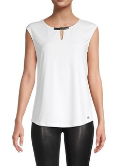 Calvin Klein Sleeveless Cutout Top