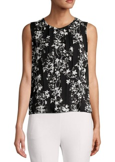 Calvin Klein Sleeveless Floral Printed Top