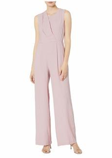 Calvin Klein Sleeveless Gauze Jumpsuit