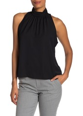 Calvin Klein Sleeveless High Neck Blouse