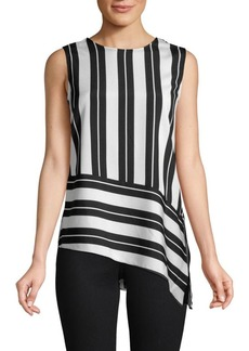 Calvin Klein Sleeveless Striped Top