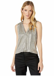 Calvin Klein Sleeveless Top with V-Neck