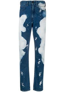 Calvin Klein slim bleached jeans