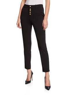 Calvin Klein Slim Button-Front Pants
