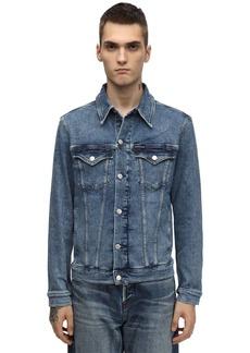 Calvin Klein Slim Cotton Blend Denim Jacket