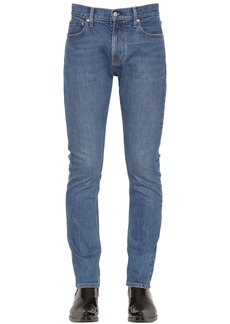 Calvin Klein Slim Fit Denim Jeans W/ Logo Embroidery
