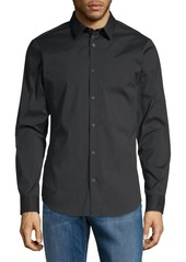 Calvin Klein Slim-Fit Stretch Cotton Shirt