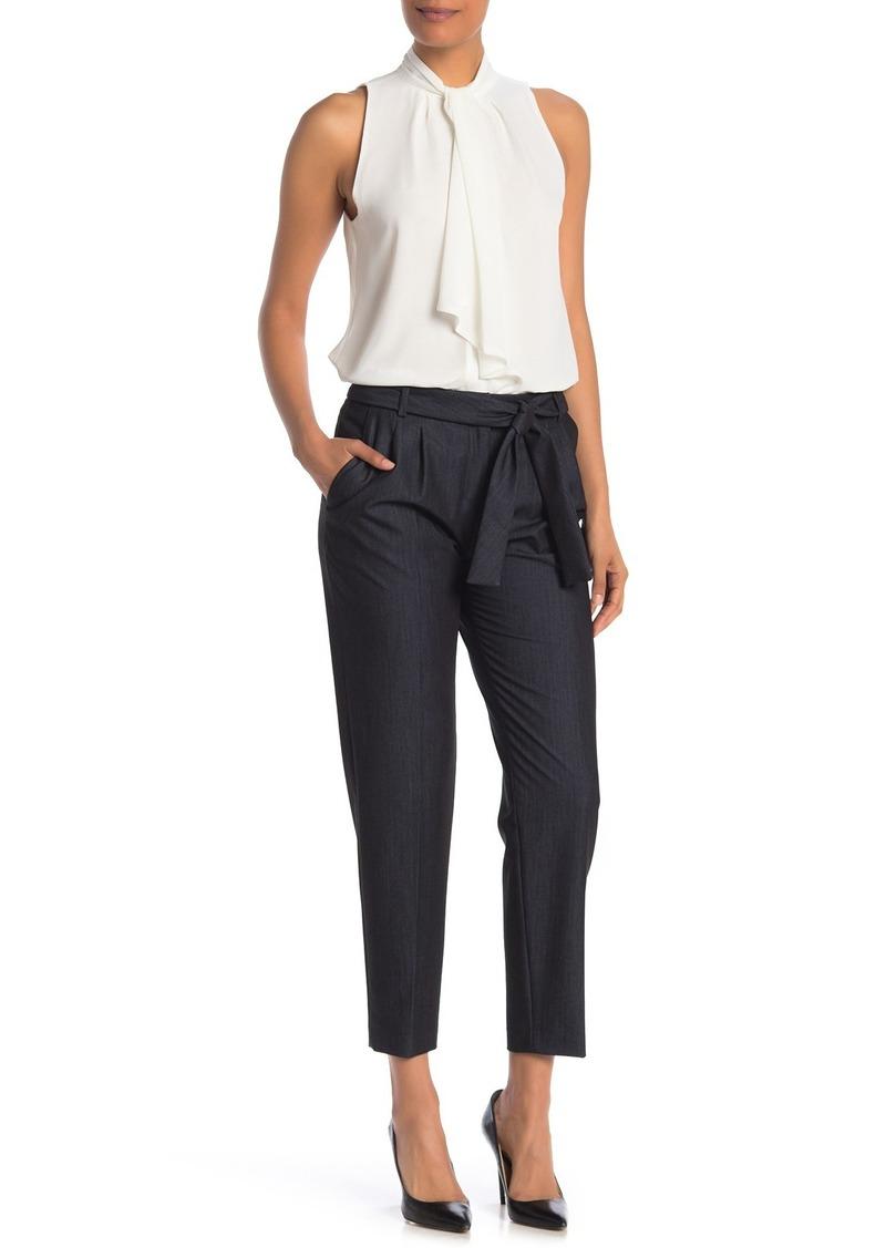 Calvin Klein Slim Leg Self-Tie Pant
