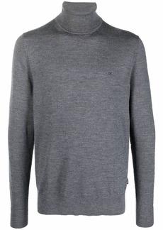 Calvin Klein small logo rollneck sweater