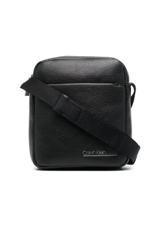 Calvin Klein small pebbled messenger bag