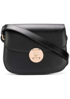 Calvin Klein small round lock shoulder bag