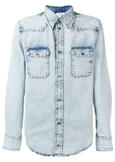 Calvin Klein snap buttoned denim shirt