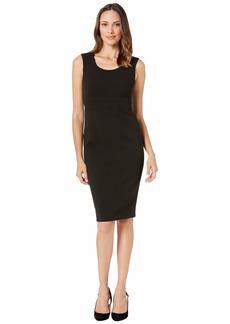 Calvin Klein Solid Sheath Dress