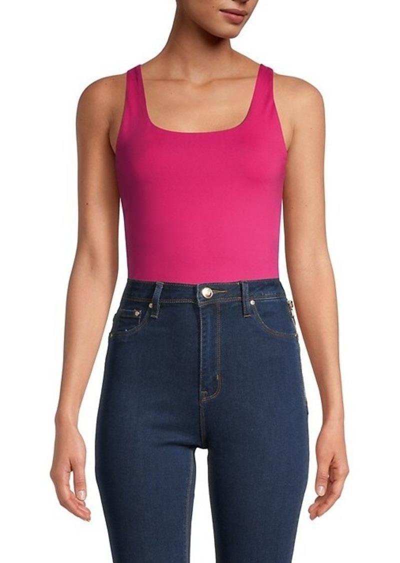 Calvin Klein Square-Neck Bodysuit