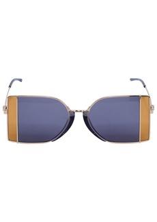 Calvin Klein Squared See-thru Lens Sunglasses
