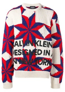 Calvin Klein star knit jumper
