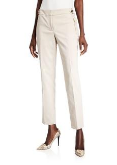Calvin Klein Straight-Leg Ankle Pants