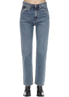 Calvin Klein Straight Leg Cotton Denim Jeans