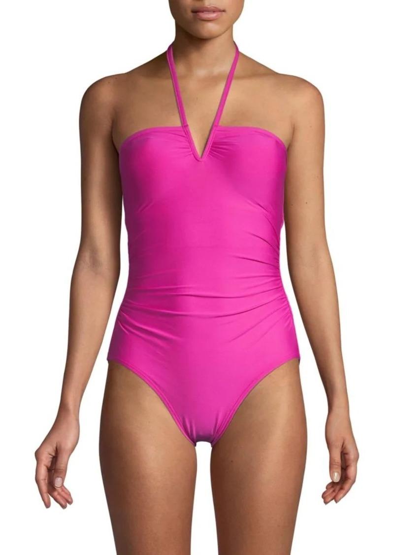 Calvin Klein Stretch 1-Piece Swimsuit