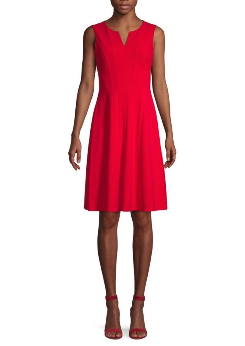 Calvin Klein Stretch A-Line Dress
