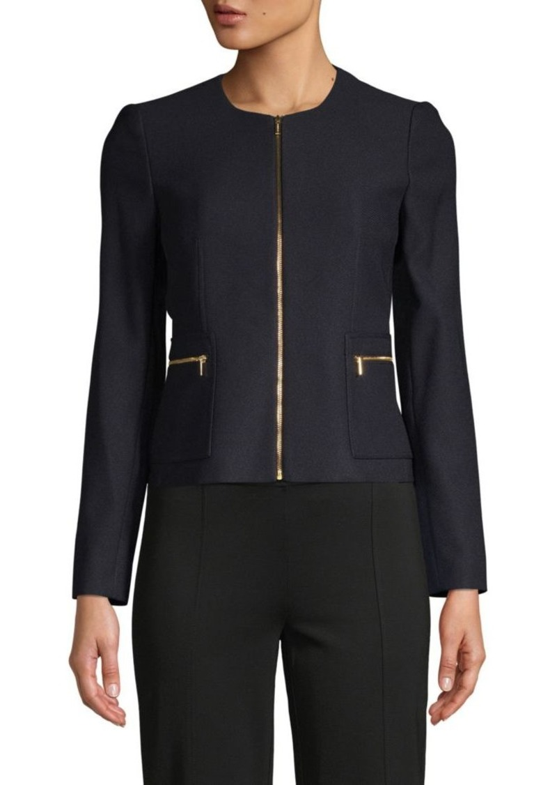 Calvin Klein Stretch Full-Zip Jacket