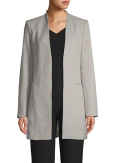 Calvin Klein Stretch Open-Front Blazer