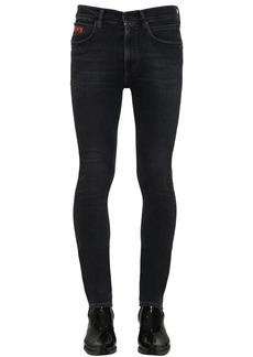 Calvin Klein Stretch Skinny Cotton Denim Trousers