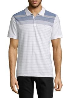 Calvin Klein Stripe Cotton Polo