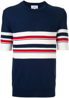 Calvin Klein stripe design knit T-shirt