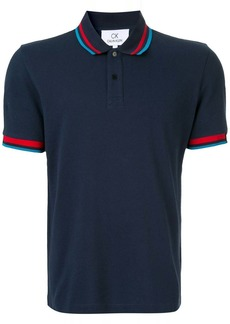 Calvin Klein stripe detail polo shirt