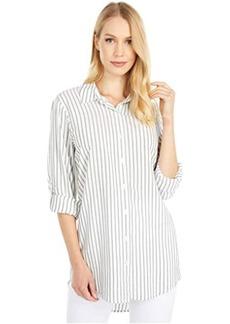 Calvin Klein Stripe Roll Sleeve Tunic