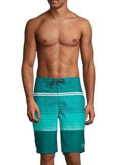 Calvin Klein Striped Board Shorts