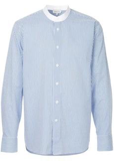 Calvin Klein striped grandad shirt