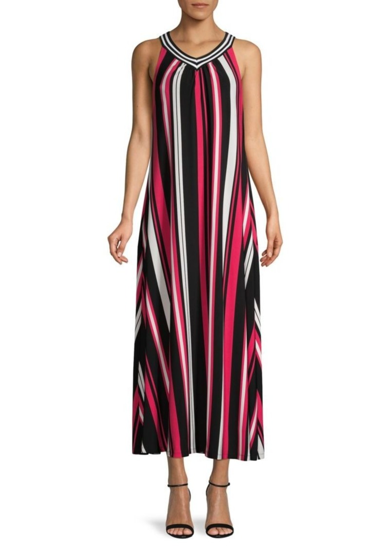 Calvin Klein Striped Midi Dress