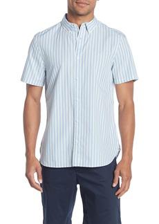 Calvin Klein Striped Short Sleeve Shirt
