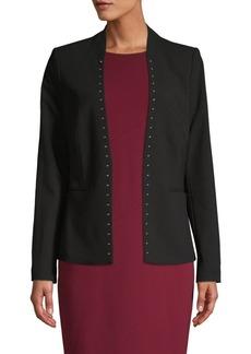 Calvin Klein Studded Open Blazer