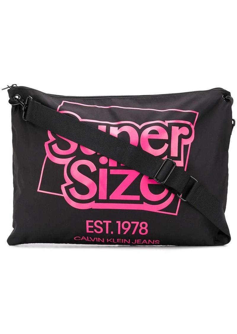 Calvin Klein Supersize shoulder bag