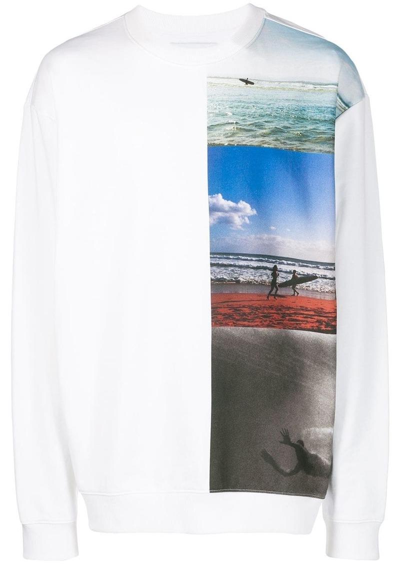 Calvin Klein surf print sweater