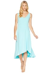 Calvin Klein Sweetheart Neck Asymmetric Hem Dress CD8C11NH