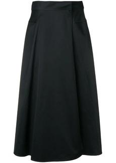 Calvin Klein tailored midi skirt